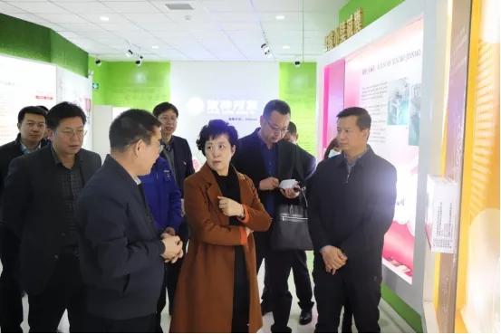 【集团新闻】甘肃省人民政府副省长何伟赴集团公司调研